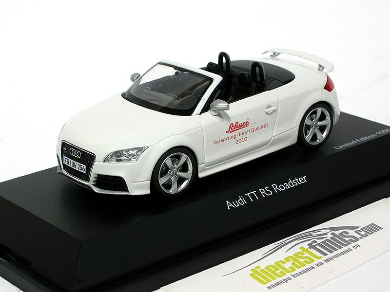 """Audi TT RS Roadster White """"Vorsprung durch Qualität 2010"""""""