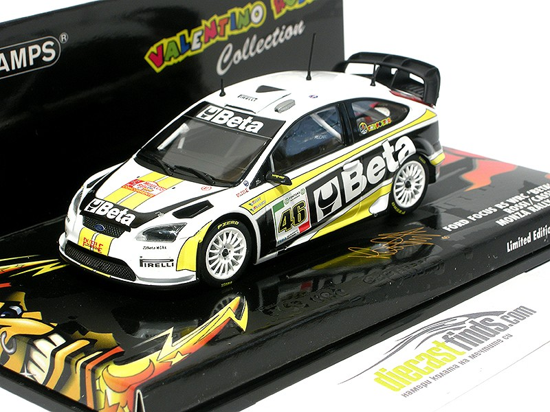 Ford Focus RS WRC BETA V. Rossi 2008