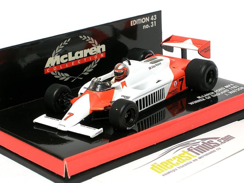 McLaren Ford MP4 1981 Winner GP England J. Watson
