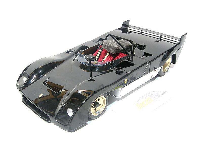 Ferrari 312 P Prototype Black
