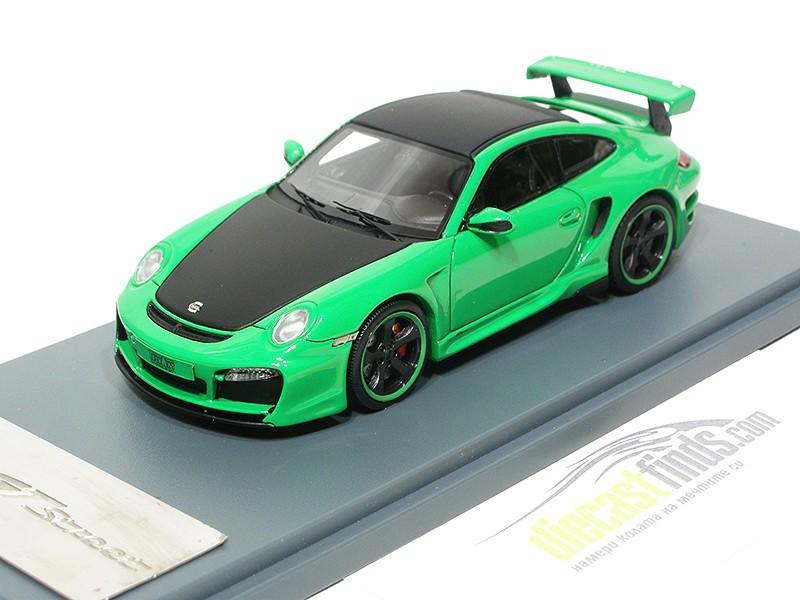 Porsche 911 (997 II) GT Tech Art Green