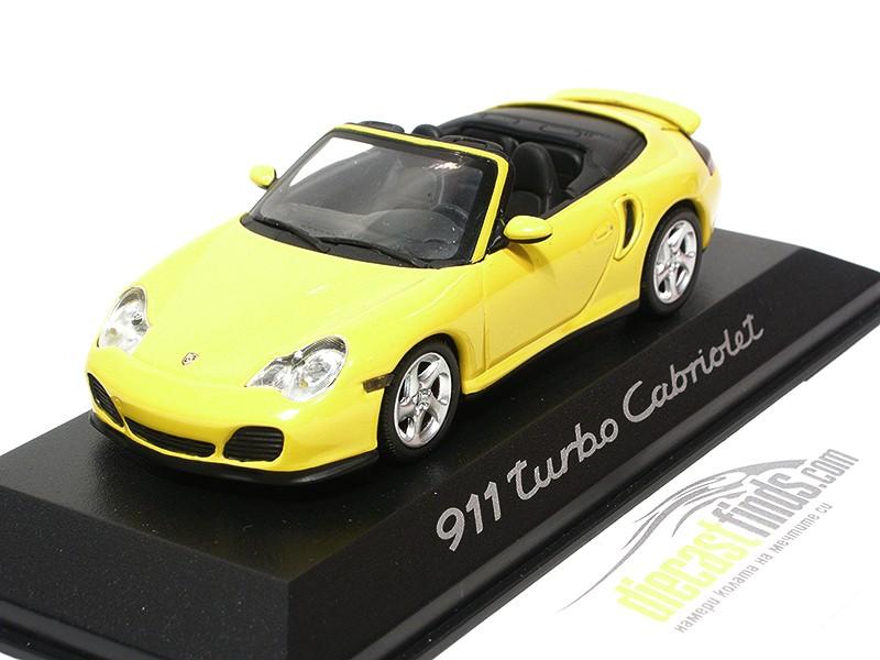 Porsche 911 (996) 2001 Cabriolet Yellow