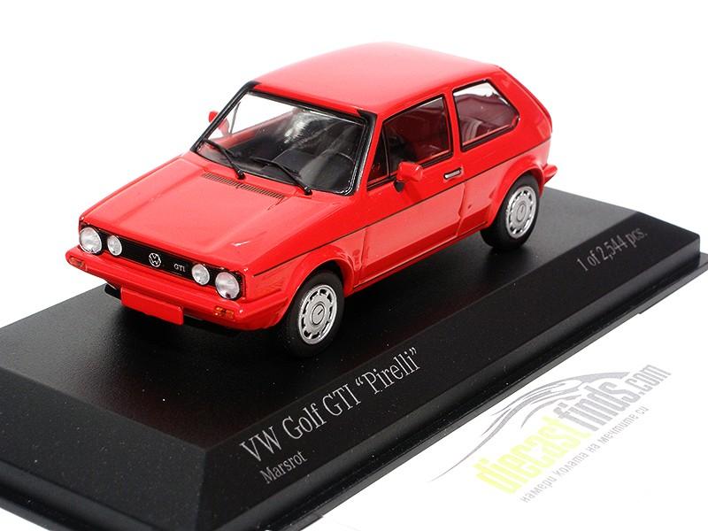 VW Volkswagen Golf I GTI 'Pirelli ' 1983 Red