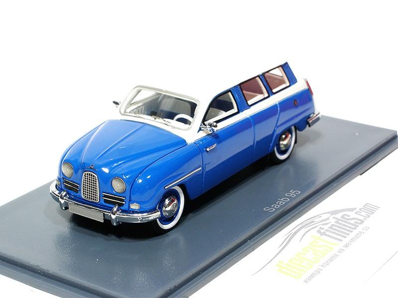 SAAB 95 Break 1959 Blue