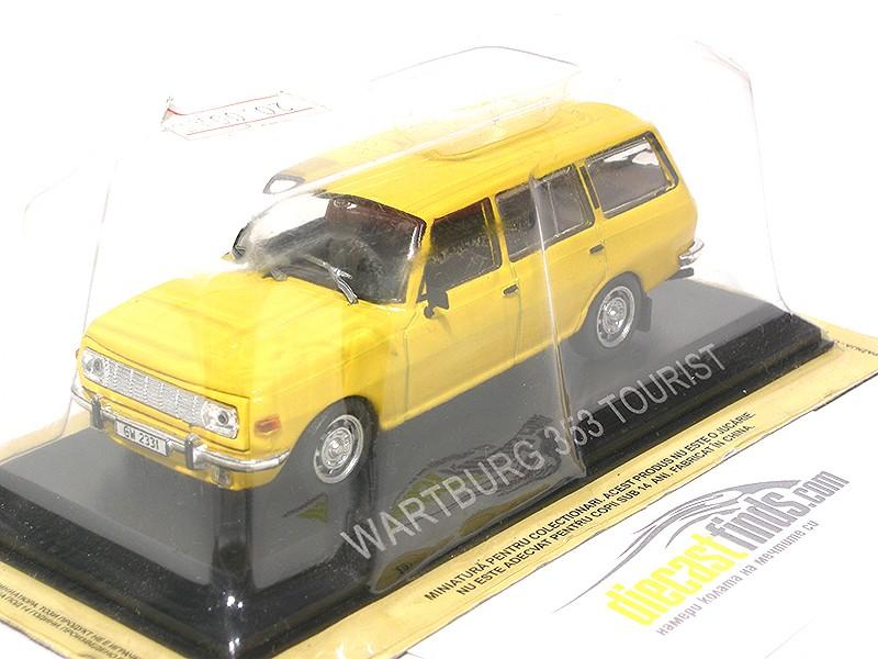 Wartburg 353 Tourist Yellow