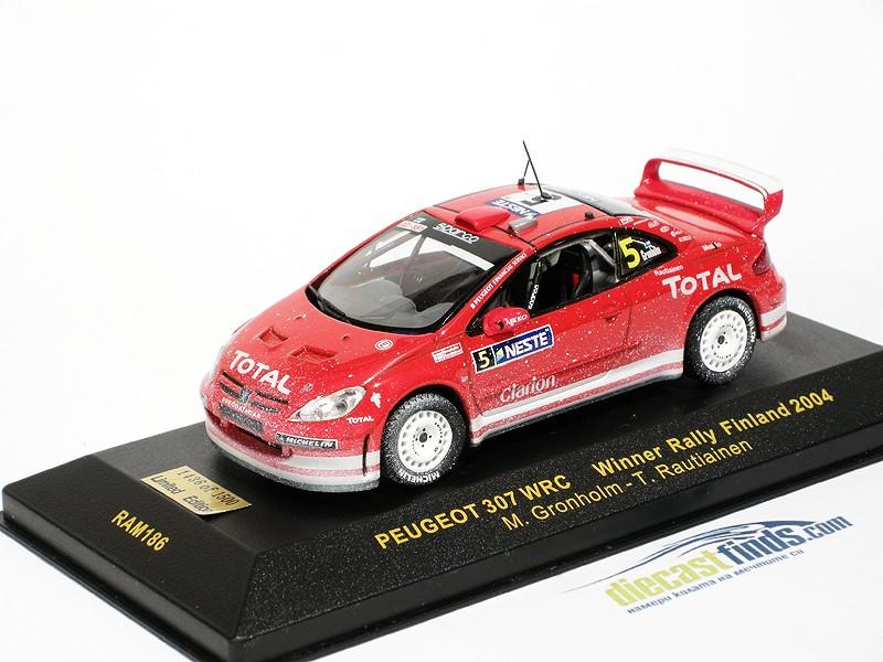 Peugeot 307 WRC Winner Rally Finland 2004