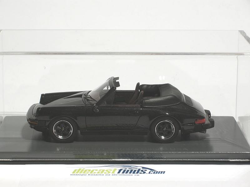 Porsche 911 Cabrio Black