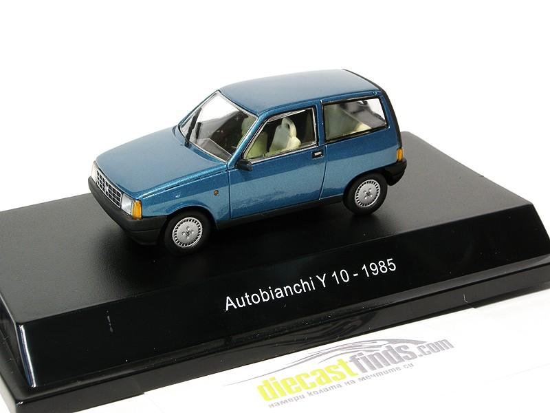 Autobianchi Y10 1985 Blue