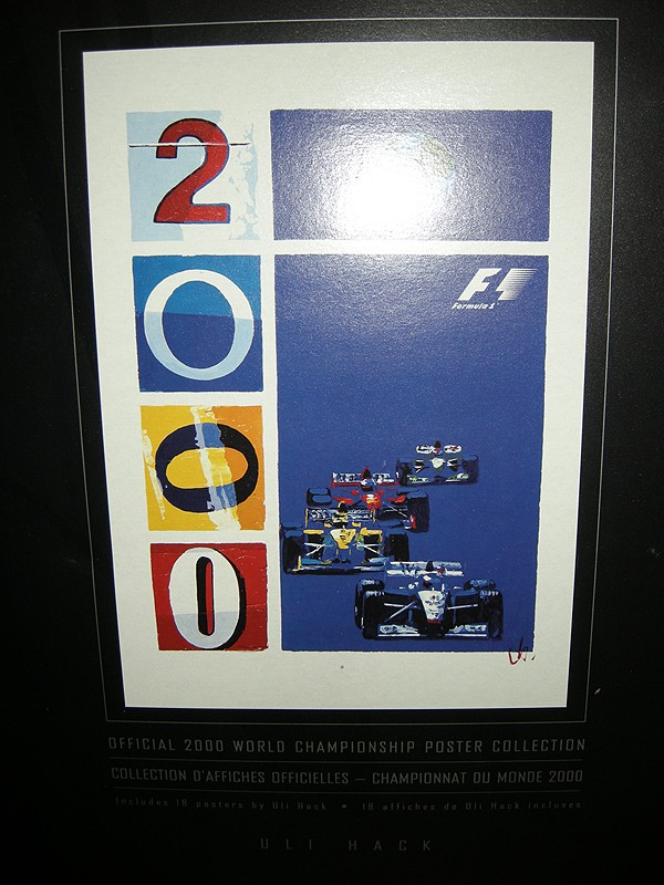 OFFICIAL 2000 WORLD CHAMPIONSHIP POSTER COLLECTION