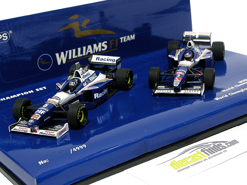 Williams FW18 / FW19 World Champion Set 5 - D Hill & J Villeneuve