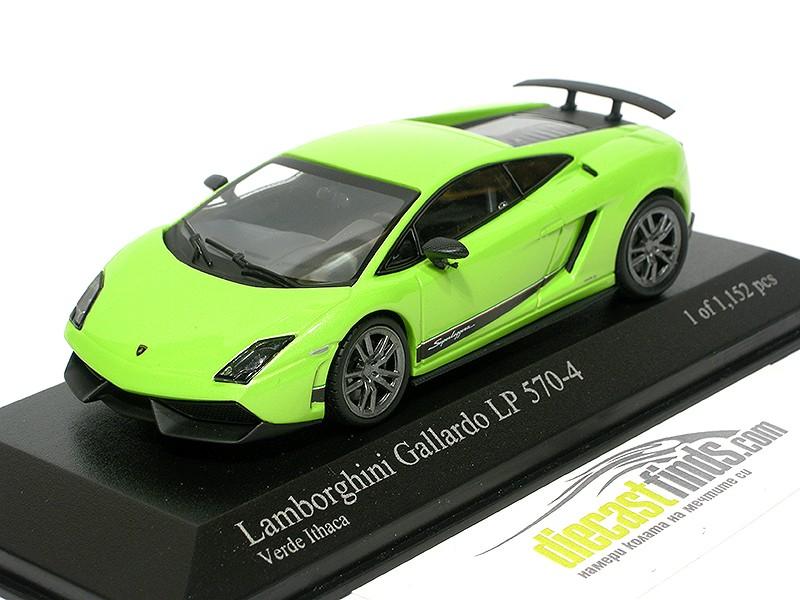Lamborghini Gallardo LP570-4 Superleggera 2010 Green