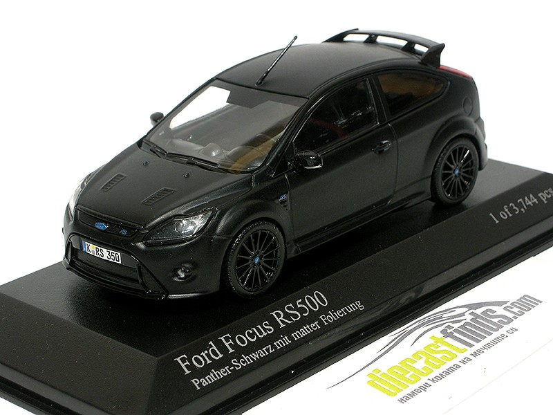 Ford Focus RS500 2010 Matt Black