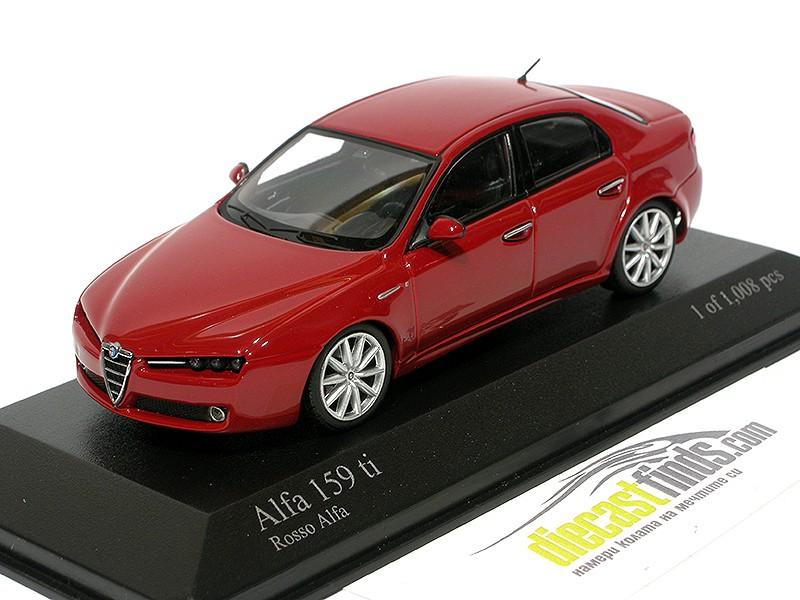 Alfa Romeo 159 ti Red