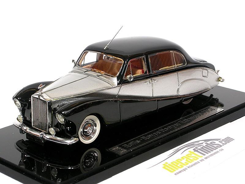 Rolls-Royce Hooper Empress 1958 Black/Silver