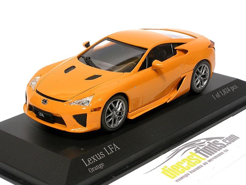 Lexus LFA 2011 Orange