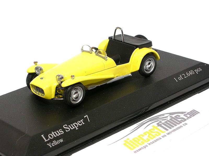 Lotus Super 7 Yellow