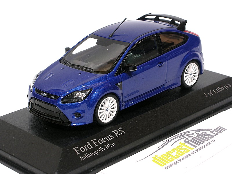 Ford Focus RS 2009 Indianapolis Blue
