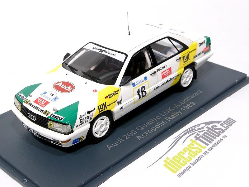 Audi 200 Quattro #18 Rally