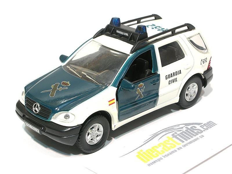 '00 Mercedes-Benz ML320 Spain Police