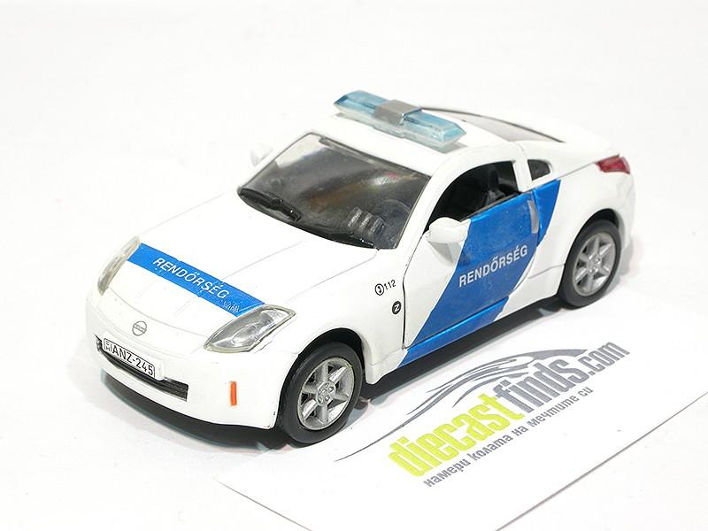 '03 Nissan 350 Z Hungary Police