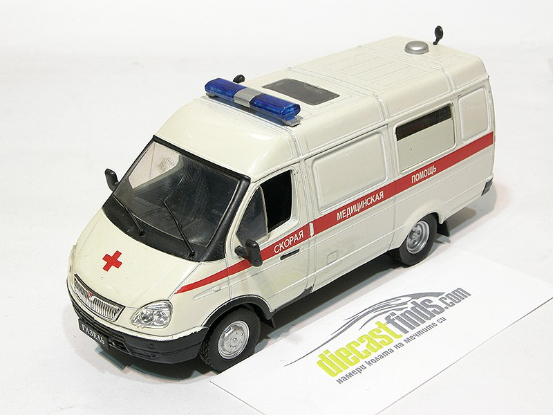 '96 GAZ 32214 Gazelle Ambulance