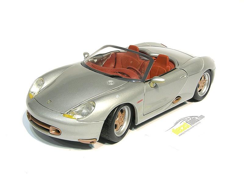 Porsche Boxster Cabriolet Silver