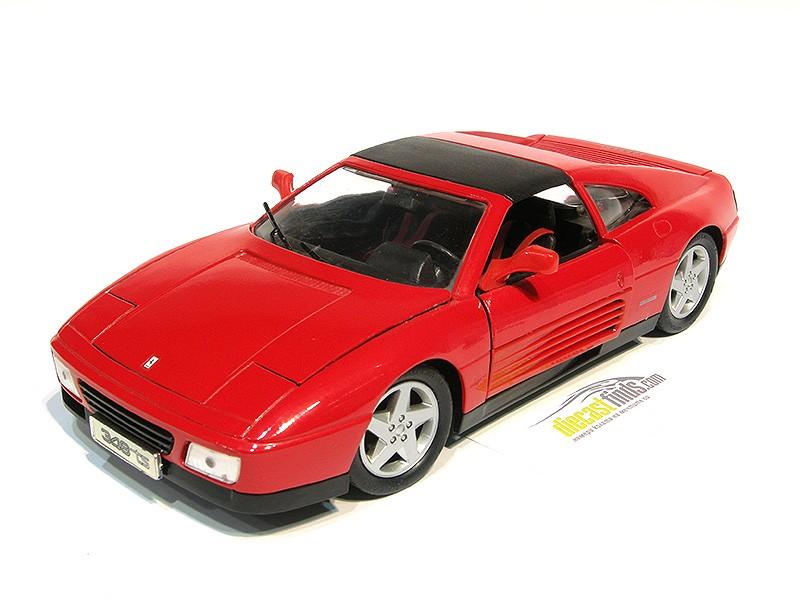 Ferrari 348TS 1989 Red