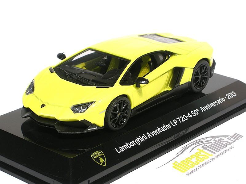 Lamborghini Aventador LP720-4 50th Anniversary 2013 Yellow
