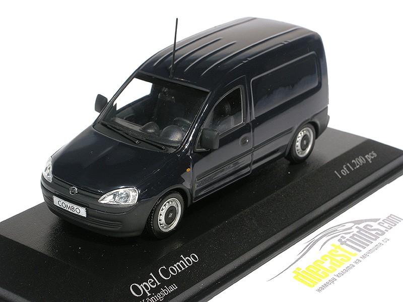 Opel Combo Van 2002 D. Blue