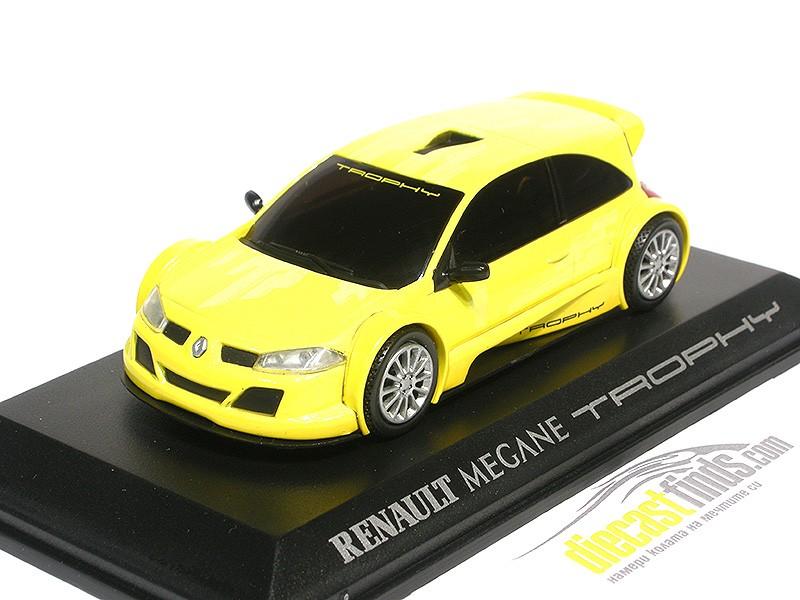 Renault Megane Trophy Yellow