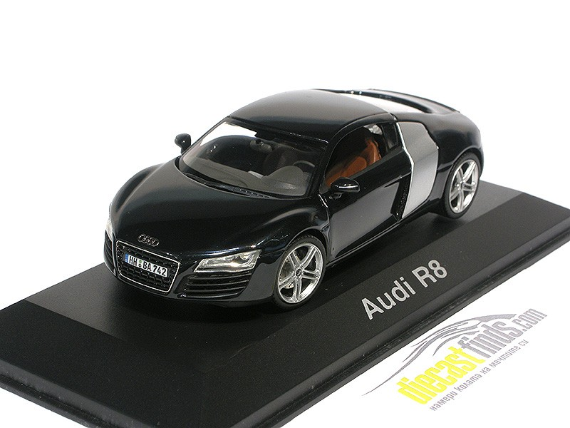 Audi R8 Coupe (with turning wheels) Black