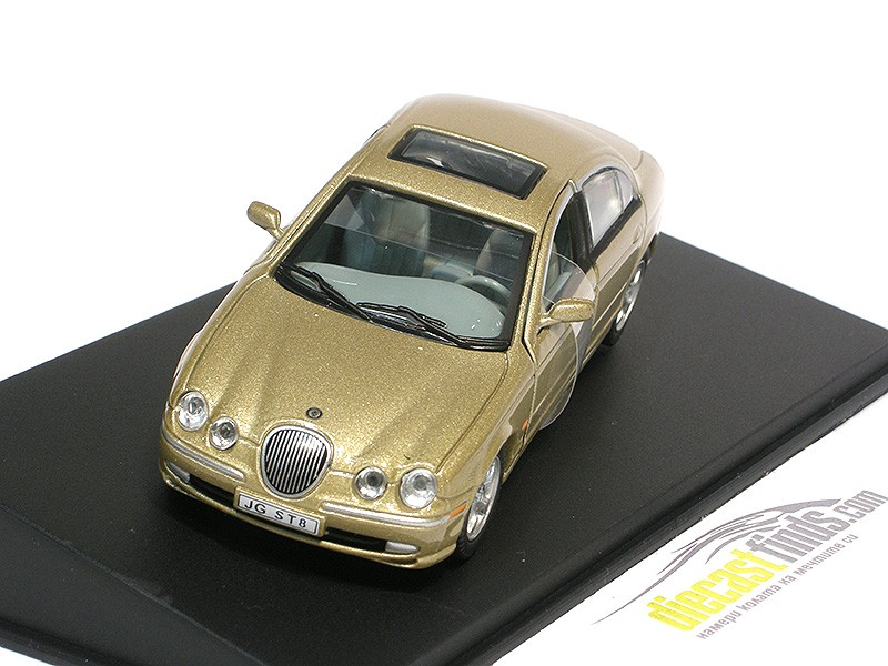 Jaguar S-type Gold Metallic
