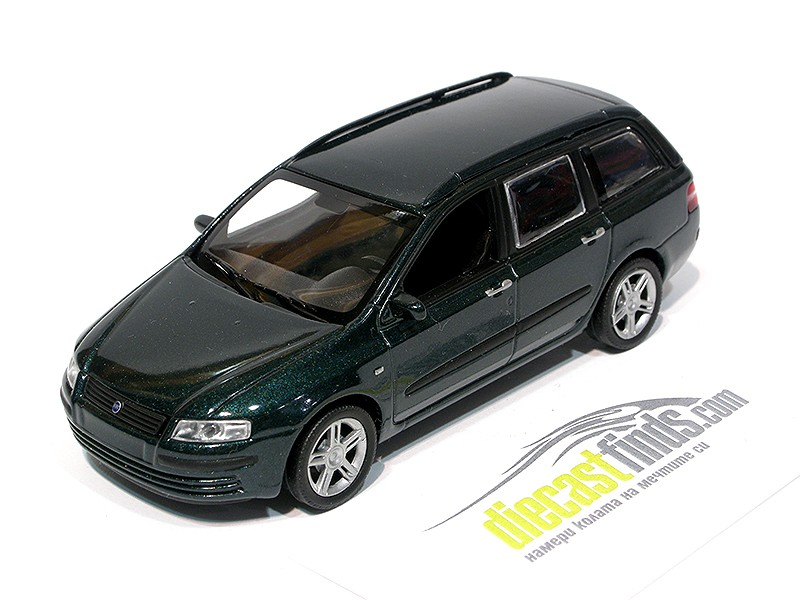 Fiat Stilo Green Metallic