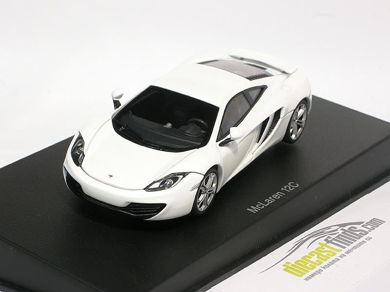McLaren MP4-12C 2011 White
