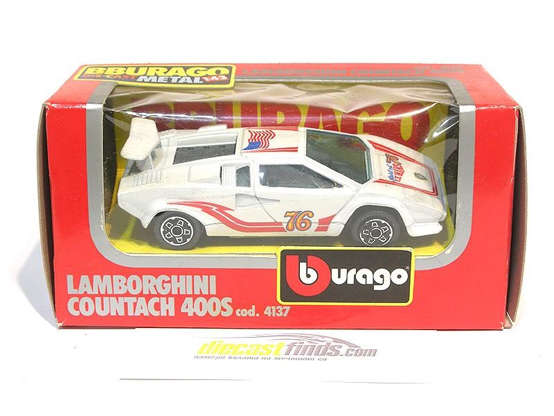 Lamborghini Countach 4000S White