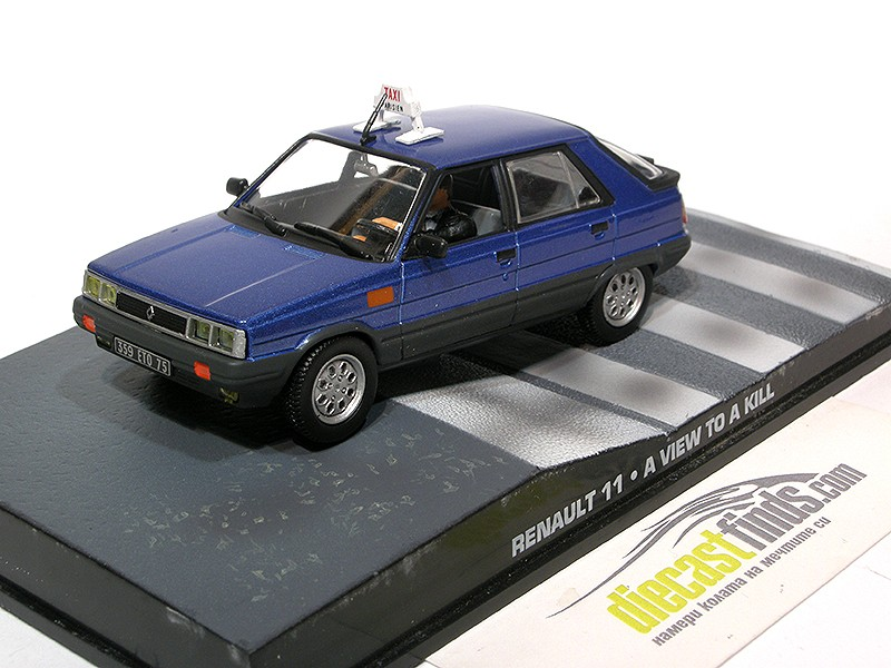 Renault 11 - A view to a kill
