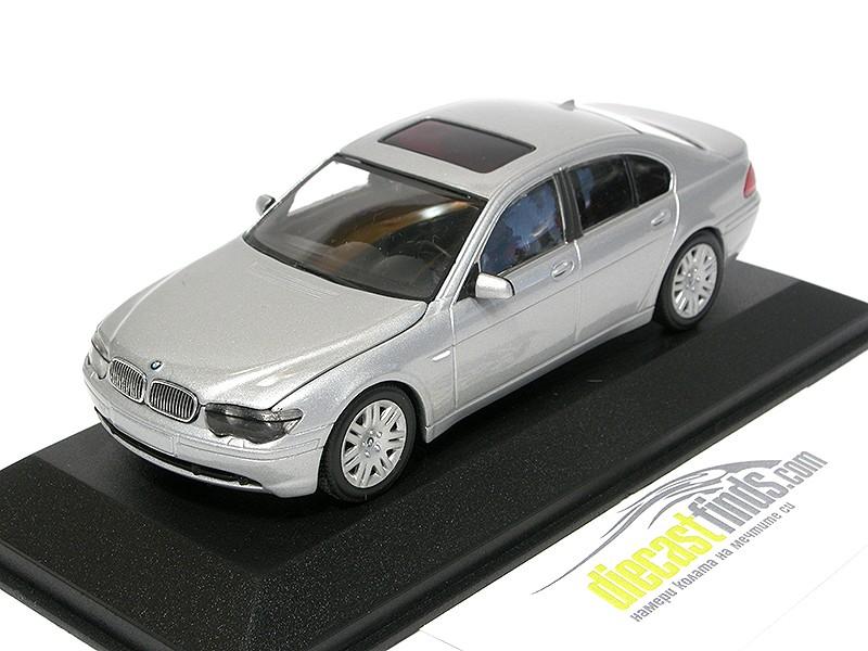 BMW 7er E65 2001 Silver Metallic