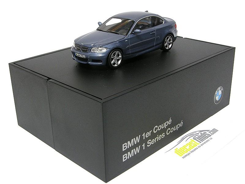 BMW 1er 1 Series Coupe E82 Grey / Blue Metallic