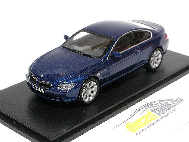 BMW 6er Coupe Blue Metallic