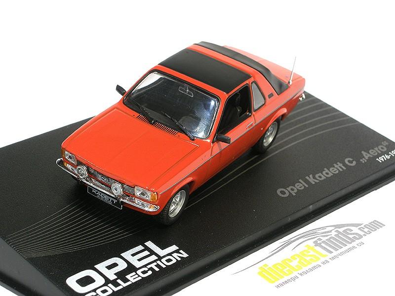 Opel Kadett C Aero 1976 Red