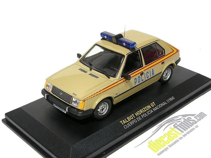 Talbot Horizon GT Cuerpo de Policia 1984