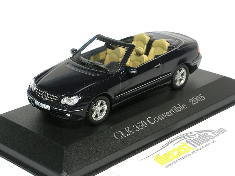 Mercedes-Benz CLK350 Convertible 2005 Black