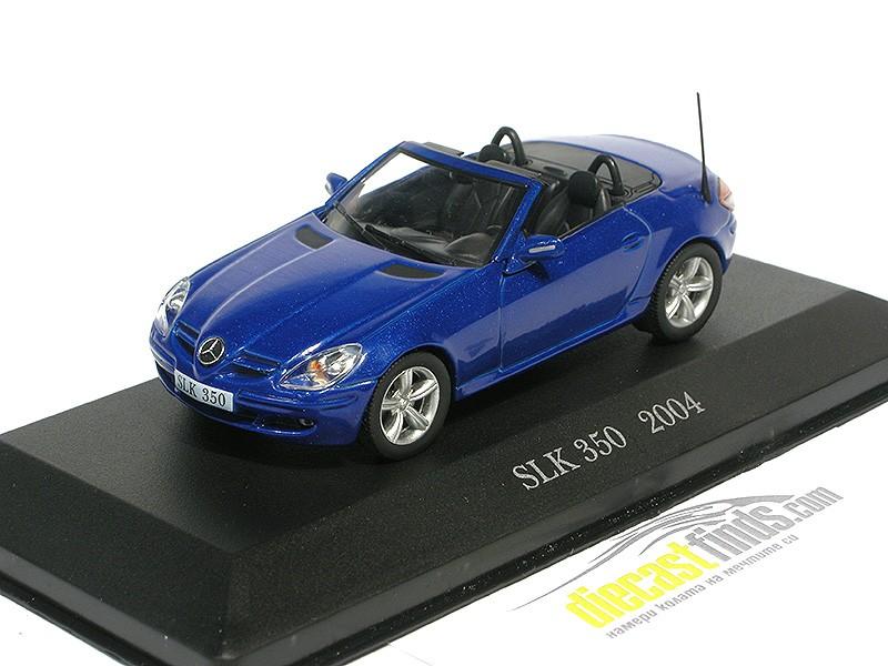 Mercedes-Benz SLK 350 2004 Blue