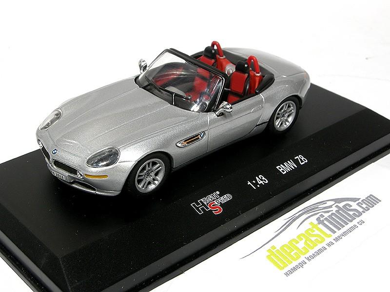 BMW Z8 Roadster Silver