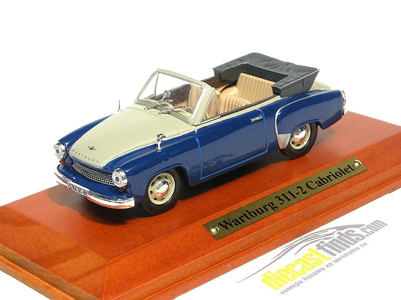 Wartburg 311-2 Cabriolet Blue/Beige