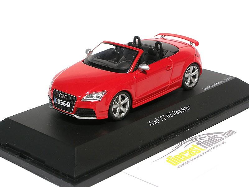 Audi TT RS Roadster 2009 Red