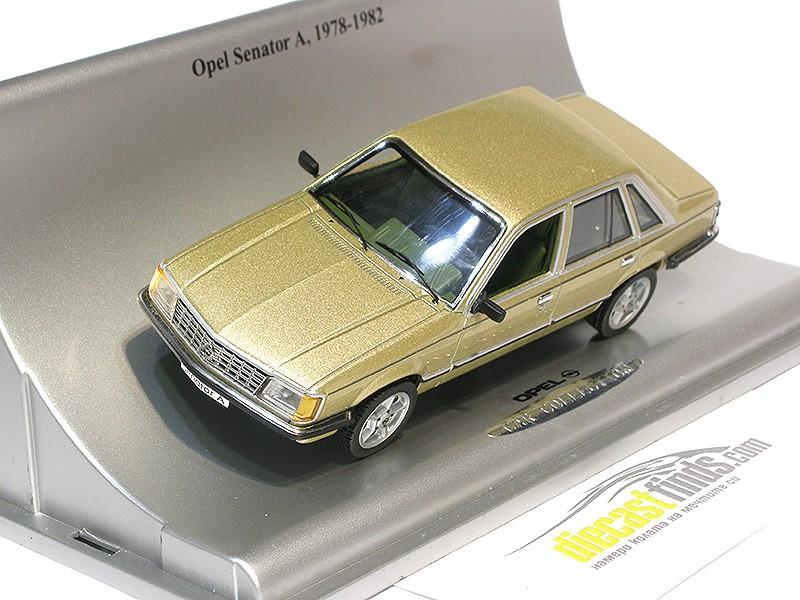 Opel Senator A 1978-1982 Gold Metallic