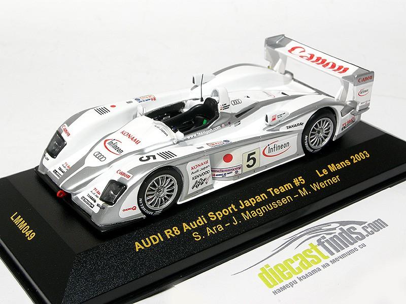 Audi R8 #5 Le Mans 2003