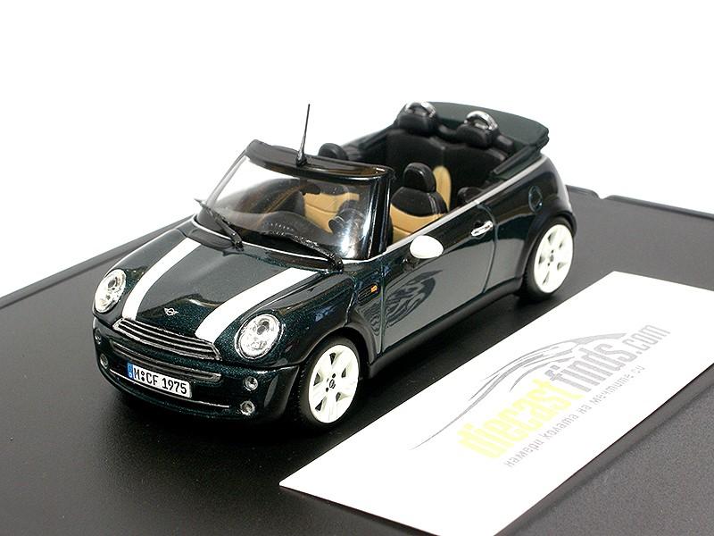 Mini Cooper R52 Cabriolet Green
