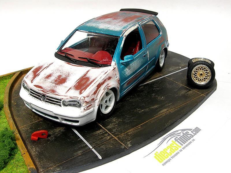 Диорама VW Golf IV GTI